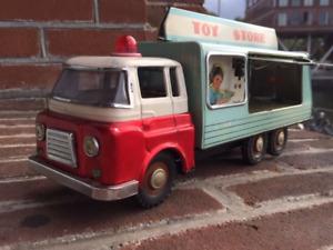 Tin Toy China Toy Store Truck Tin MF 172