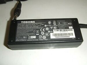 Genuine Power Supply Toshiba PA3715E-1AC3 Adapter 19V 3.95A Charger for Laptop