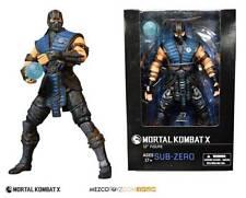 Mezco mortal Kombat X figura 1/6 Sub-Zero