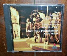 Frank Liszt: Mazeppa/Mephisto Waltz by New York Philharmonic (CD, 1995)