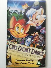 CATS DON'T DANCE (VHS TAPE)