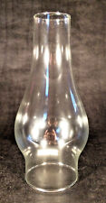 "New 3 x 8 1/2"" Clear Glass Oil Lamp Chimney fits #2 burner and 3"" gallery #CH932"