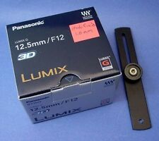 Panasonic 3D LUMIX G 12.5mm/F12 Lens - Modified for Macro 3D by DrT -your choice