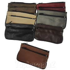Leather Purse Ladies Coin Clutch Small Real Zip Bag Key Holder Wallet Womens