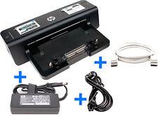 HP Laptop Dockingstation HSTNN-I11X + Original HP 90W Netzteil + DisplayPort