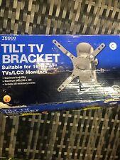 "Tilt TV Bracket - suitable for 16"" to 37"" TVs / LCD Monitors BNIB"