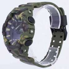 *NEW CASIO MENS G SHOCK CAMOUFLAGE WATCH MILITARY XL GA-700CM-1AER 3ADR  RRP£179