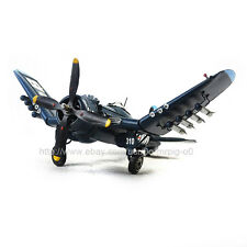 Handmade Military WWII Fighter Plane 1944 F4U-4 Propeller Antique Metal Model