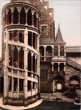 Deutschland, Nürnberg. Germanisches Wasserhof. vintage print photochromie, vin