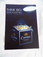 Corona Extra Bier Werbeschild in A4  Neu siehe auch  Fotos