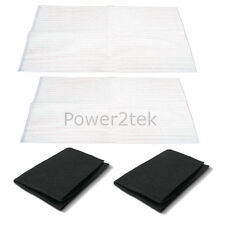 2 x Pelgrim Cooker Hood Extractor Vent Grease & Charcoal Filters Saturation Indi