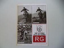 advertising Pubblicità 1977 RG e MOTO DKW 175/250/50 GUALDI/ANDREINI/PEREGO