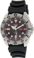 Schwarze 5 Seiko Quarz-Armbanduhren (automatisch) Sports