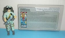 2017 Black Major Custom GI Joe 1987 Starduster v1B Figure Complete w/ File Card