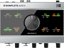 Native Instruments Komplete Audio 6 - Audio / MIDI-Interface Audiointerface
