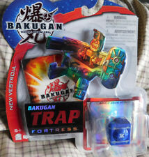 BAKUGAN Battle Brawlers FORTRESS New Vestroia Trap Blue Aquos FORTRESS NIP! 2009