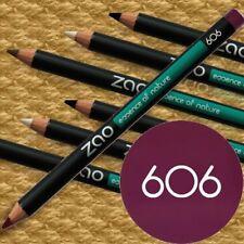 Zao Make-up 606 PFLAUME Stift Eyeliner Lischatten Lippen Naturkosmetik bio fair