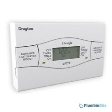 Drayton Lifestyle LP722 7 Day Twin Two Channel Central Heating Water Programmer