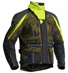 Lindstrands Oman Men's Motorcycle Textile Waterproof Vented Jacket Size 52 M