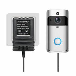 18V AC Power Supply Adapter 5M Cable For Wifi IP Video Intercom Doorbell Camera