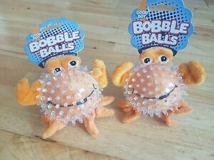 Good Boy -  Crab Bobble Balls x2 - Puppy / Dog Toy