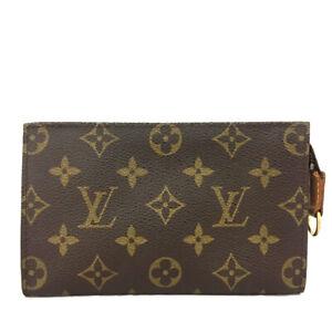 Louis Vuitton Monogram Cosmetics Pouch (Bucket PM) Purse /C1639