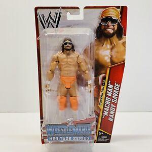 WWE MACHO MAN RANDY SAVAGE Superstar #13 WestleMania Heritage Series Mattel