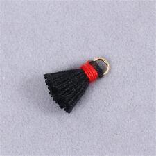 Tassel Charm Necklace Pendant Metal Ring 20mm Jewelry Making DIY Crafts 20 pcs