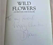 DIANA PRINCESS OF WALES SIGNATURE – WILD FLOWERS OF BRITIAN & EUROPE BOOK