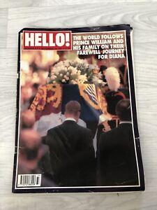 HELLO! Magazine Issue 475 Sept 13 1997 Princess Diana Farewell Tribute