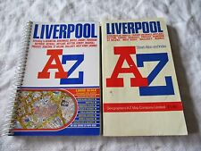 2005 LIVERPOOL Street Atlas by Geographers' A-Z Map Co - Spiral bound + Another