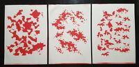 Tactical Stencil Set A4 11 Sheets, Multicam,Woodland,Digicam,Tiger Stripe,Grass