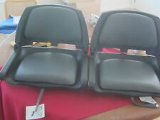 Springfield Marine Fold-Down Boat Seats (SOLD AS A PAIR) P# 1061103-C