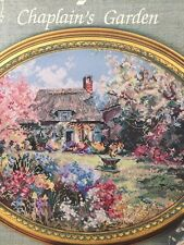 CHAPLAIN'S GARDEN Cross Stitch Pattern Chart ONLY L408 - Marty Bell COLORFUL