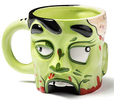 Zombie Head Taza Zombie Think Geek