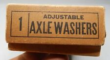 NEW OLD STOCK Original Bx Antique Adjustable Leather Axle Washers Carriage Buggy