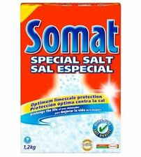 Miele : Somat Dishwasher Salt (B1640) - Case of 8 (Total 9.6 kg)