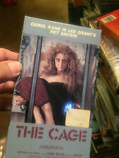 """""""THE CAGE""""---CAROL KANE IS LEE GRANT'S PET SISTER-------VHS"""
