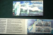 Greenland Stamp Booklet #10 Sailing Ships 2002 - CTO - EXCELLENT!