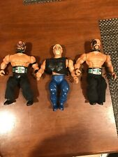 1985 WWF Remco Road Warriors & Paul Ellering 3 Pack W/ Titles Complete! RARE