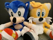 "New SONIC and TAILS 8"" Plush Toys Set"