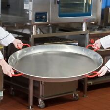 "35 1/2"" Extra Large Paella Pan Seafood Spanish Carbon Steel Restaurant Catering"