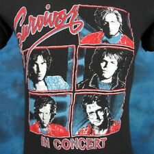 vintage 80s SURVIVOR CONCERT T-Shirt SMALL tour hard rock rocky soft thin