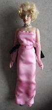 "RARE Franklin Mint Vinyl Marilyn Monroe in Pink Sample Doll 15"" Tall LOOK"