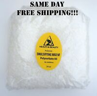 EMULSIFYING WAX NF  by H&B Oils Center POLYSORBATE 60 PURE POLAWAX 24 OZ