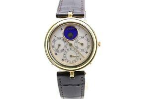 Gerald Genta 18k Gold, Perpetual Calendar Moon Phase Automatic, Ref, G.2426.4