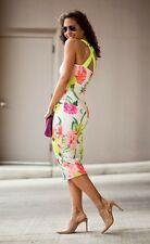 Ted Baker Taylar robe Wiggle Midi Fleur at High Tea près du corps taille 1 UK 8