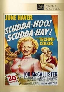 Scudda Hoo Scudda Hay (1948 June Haver)  - Region Free DVD - Sealed