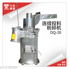 Automatic continuous Hammer Mill Herb Grinder,pulverizer machine,20KG per hour