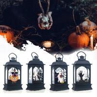 4Pcs Halloween Lantern Desktop Halloween Decor LED Lamp